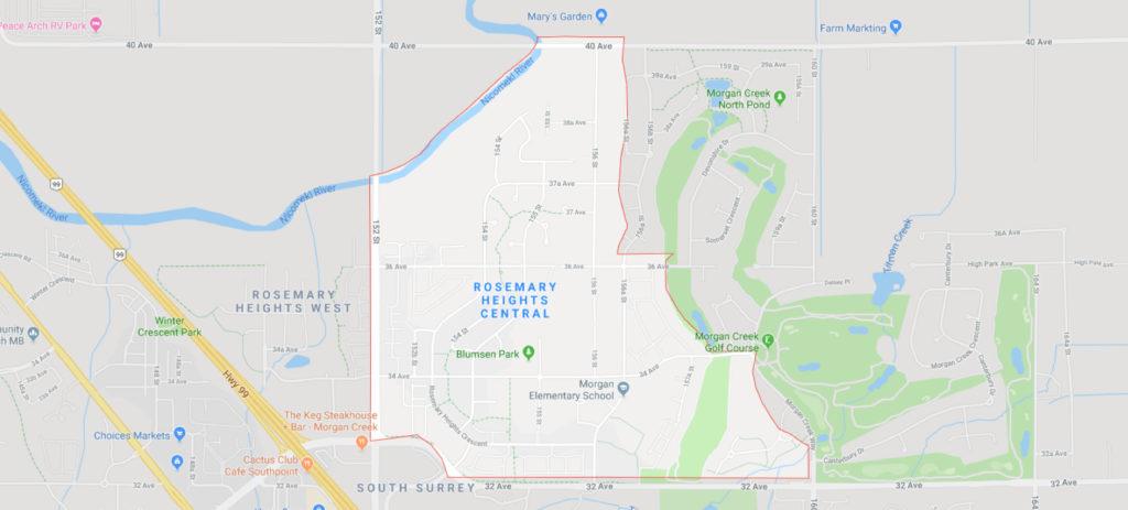 Morgan Creek Rosemary Heights G Map