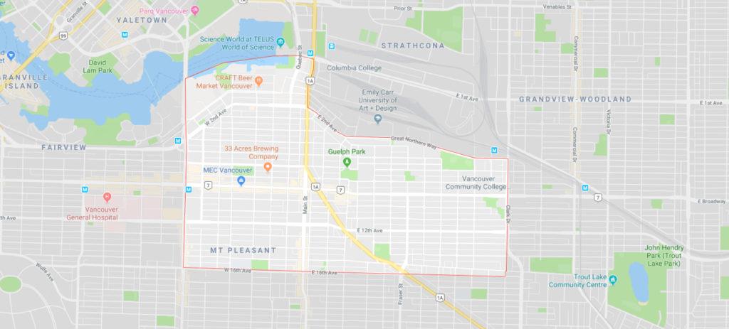 Mount Pleasant gmap