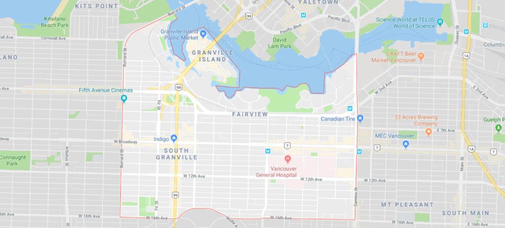 fairview G map